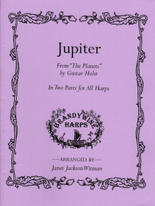 "Jupiter from ""The Planets"" (for multiple harps) by Holst / Witman"