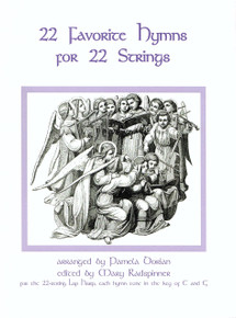 22 Favorite Hymns for 22 String Harp by Dorian