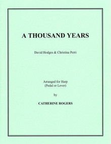 A Thousand Years by Christina Perri arr. by Catherine Rogers