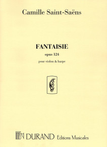 Fantaisie Op. 124 (for violin and harp) by Saint-Saens