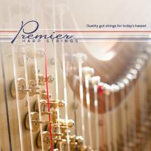 3rd E-5th A Premier Harp Pedal Gut Set