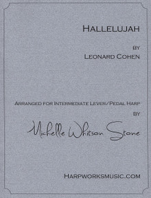 Hallelujah - Intermediate lever or pedal by Leonard Cohen / Michelle Whitson Stone