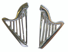 Earrings- Harps (Sterling Silver)