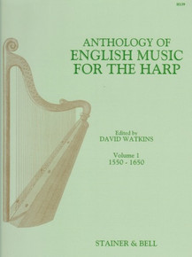 Anthology of English Music for the Harp Vol 1 by David Watkins