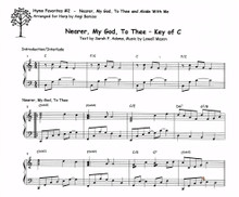 Hymn Favorites #2 - Nearer my God to Thee and Abide  With Me by Angi Bemiss