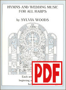 PDF Hymns and Wedding Music for All Harps by Sylvia Woods