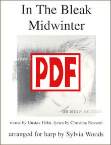 PDF In the Bleak Midwinter arr. by Sylvia Woods