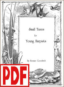 PDF Small Tunes for Young Harpists by Bonnie Goodrich