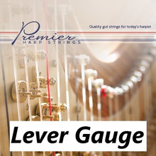 4th Octave Set Premier Harp Lever Gut String