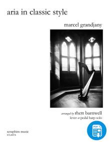 Aria in Classic Style PDF, by Grandjany/Barnwell