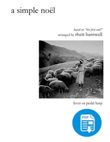 A Simple Noël, arr. Rhett Barnwell-PDF Download