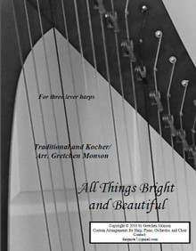 Creation Medley for lever harps by Gretchen Monson - PDF Download