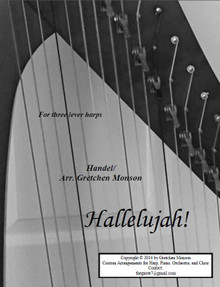 Hallelujah! for lever harp by Gretchen Monson - PDF Download
