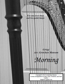 Morning for Pedal and lever harp by Gretchen Monson - PDF Download