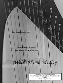 Welsh Hymn Medley for lever harp by Gretchen Monson - PDF Download