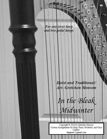 In the Bleak Midwinter for Pedal and lever harp by Gretchen Monson - PDF Download