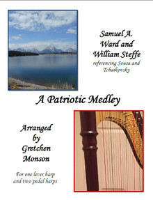 A Patriotic Medley for Pedal and lever harp by Gretchen Monson - PDF Download