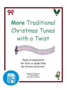 More Traditional Christmas Tunes with a Twist - PDF Download