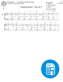 Amazing Grace arr. by Angi Bemiss - PDF Download