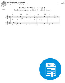 Be Thou My Vision arr. by Angi Bemiss - PDF Download