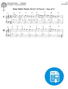 Dona Nobis Pacem arr. by Angi Bemiss  PDF Download