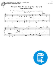 The Lord Bless You and Keep You arr. by Angi Bemiss - PDF Download