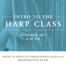 Intro to the Harp - Children's Class