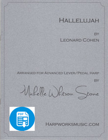 Hallelujah- Advanced version by Leonard Cohen / Michelle Whitson Stone - PDF Download