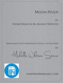 Moon River by Mancini / Mercer / Michelle Whitson Stone - PDF Download