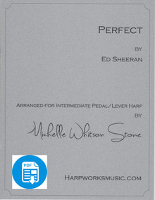 Perfect - Intermediate lever or pedal by Ed Sheeran/ Michelle Whitson Stone - PDF Download