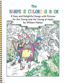 Harpers Coloring Book by William Mahan