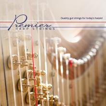 5th Octave Skeletal set - Premier Harp Pedal Gut Strings Set