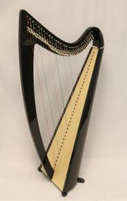 Camac Ulysses- 34 String Carbon Fiber Harp (Ebony #V1010) - PENDING SALE
