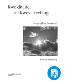 Love Divine, All Loves Excelling arranged by Rhett Barnwell - PDF Download