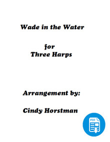 Wade in the Water Harp Part 1 arr. by Cindy Horstman PDF Download