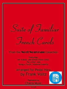 Suite of Familiar French Carols by Frank Voltz - PDF Download