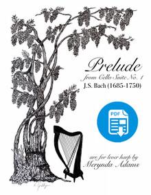 Prelude from Bach Cello Suite No. 1 arr. by Merynda Adams - PDF Download