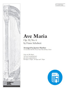 Ave Maria by Shubert Collection arr. by Jaymee Haefner - PDF Download