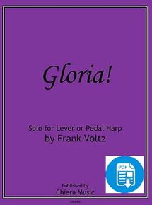 Gloria! for solo harp by Frank Voltz - PDF Download
