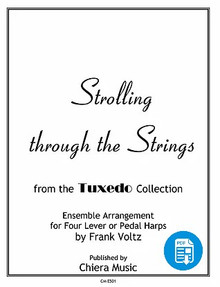 Strolling Through the Strings for Harp Ensemble by Frank Voltz - PDF Download