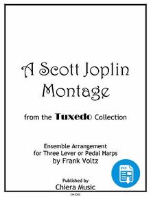 A Scott Joplin Montage for Harp Ensemble by Frank Voltz - PDF Download