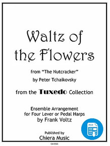 Waltz of the Flowers for Harp Ensemble by Frank Voltz - PDF Download