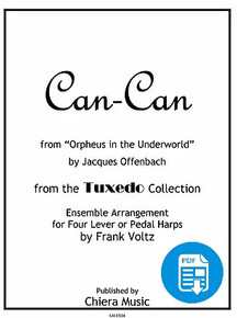 Can-Can for Harp Ensemble by Frank Voltz - PDF Download