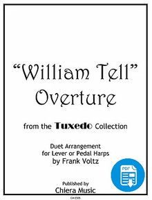 William Tell Overture for Harp Ensemble by Frank Voltz - PDF Download