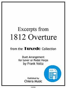 1812 Overture for Harp Ensemble by Frank Voltz - PDF Download