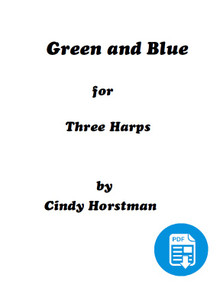 Green and Blue for 3 Harps by Cindy Horstman PDF Download