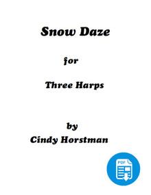 Snow Daze for 3 Harps (Harp Part 3) by Cindy Horstman PDF Download