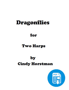 Dragonflies for 2 Harps (Harp Part 1) by Cindy Horstman PDF Download