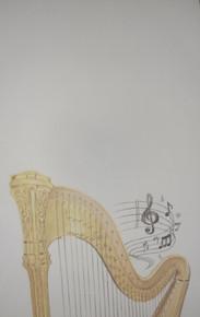 Harp Notepads from Flourish & Dot