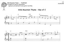 Wild Mountain Thyme arr. by Angi Bemiss